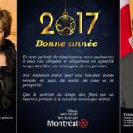 Voeux de Mme Samson et de M. Benjamin : Joyeux Noël et bonne année 2017!