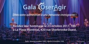 Gala OserAgir 2017 @ Hotel La Plaza  | Montréal | Québec | Canada
