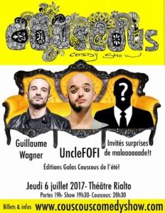couscous comedy show @ Théâtre Rialto | Montréal | Québec | Canada