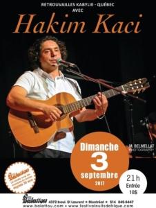Hakim Kaci au Balattou @ Club Balattou | Montréal | Québec | Canada
