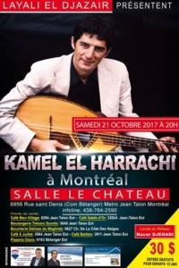 Kamel el Harrachi a Montréal @ Ciné-Théâtre Le Château | Montréal | Québec | Canada