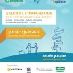 Salon de l'immigration et de l'intégration au Québec : Le 31 mai et 1er juin 2017 au Palais des congrès de Montréal