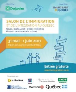 Salon de l immigration et de l int gration au qu bec le 31 mai et 1er juin 2017 au palais des - Salon de l emploi palais des congres ...