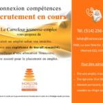Connexion compétences : Recrutement en cours