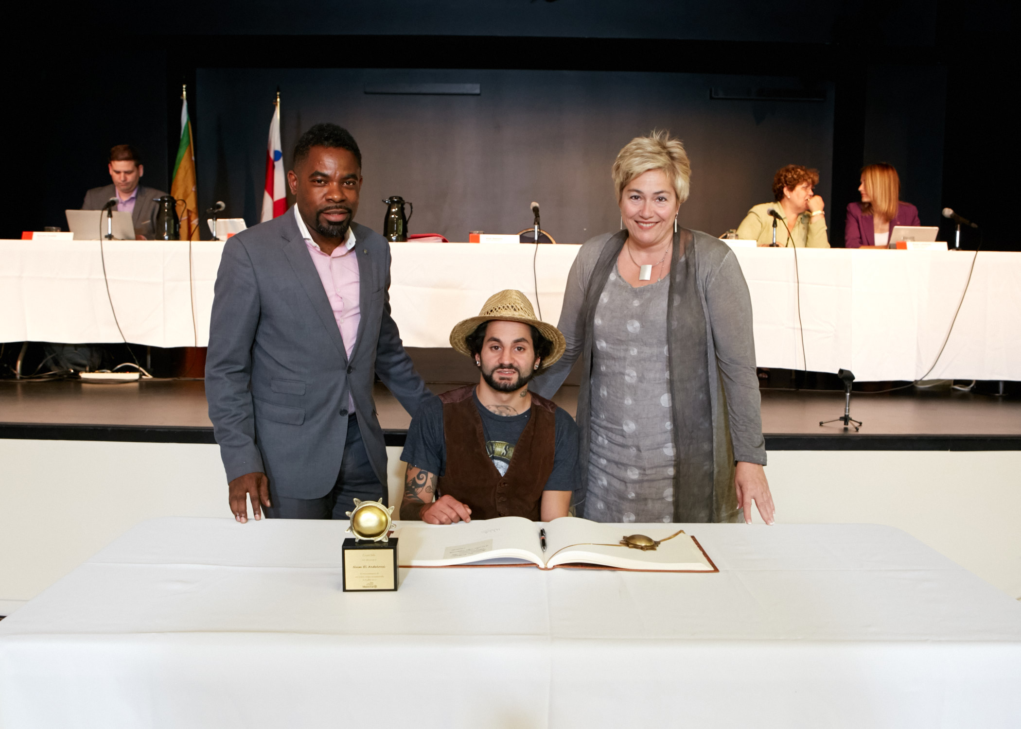 Remise d'un prix Solis : Un Michelois de 28 ans honoré pour sa bravoure