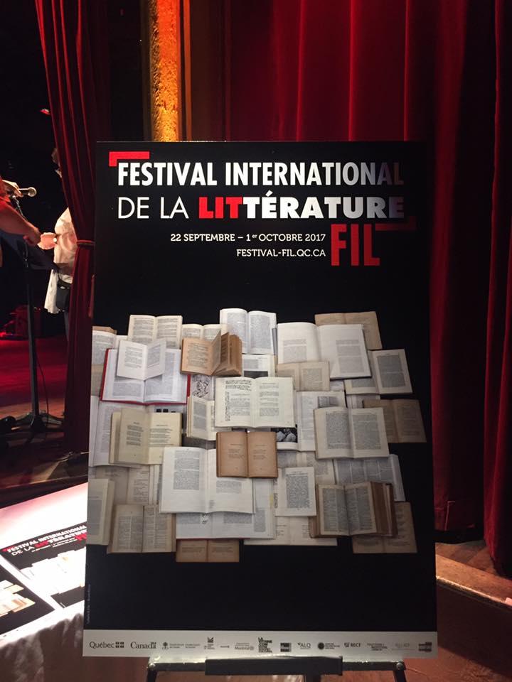 FESTIVAL INTERNATIONAL DE LA LITTÉRATURE (FIL) @ Montréal | Québec | Canada