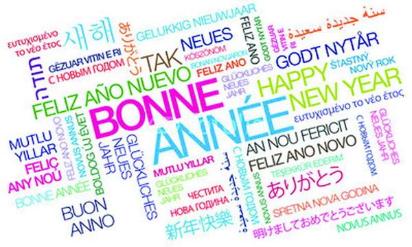"""Résultat de recherche d'images pour """"bonne année langues"""""""