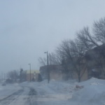 Vents forts combinés à la neige réduisent la visibilité sur certains secteurs du Québec
