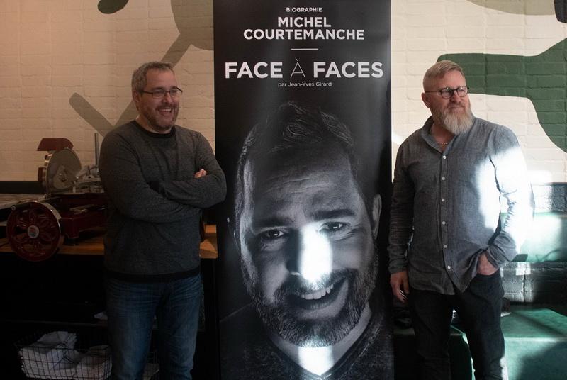 Lancement Du Livre Face A Faces De Michel Courtemanche L Initiative