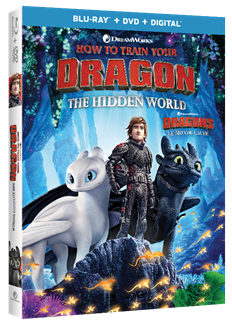 How to Train Your Dragon le monde caché Dragon /& Viking